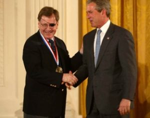 Jerry M. Woodall meeting President Bush