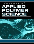 The cover of Journal of Applied Polymer Science