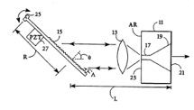 Patent sketch for semiconductor laser with integral spatial mode filter