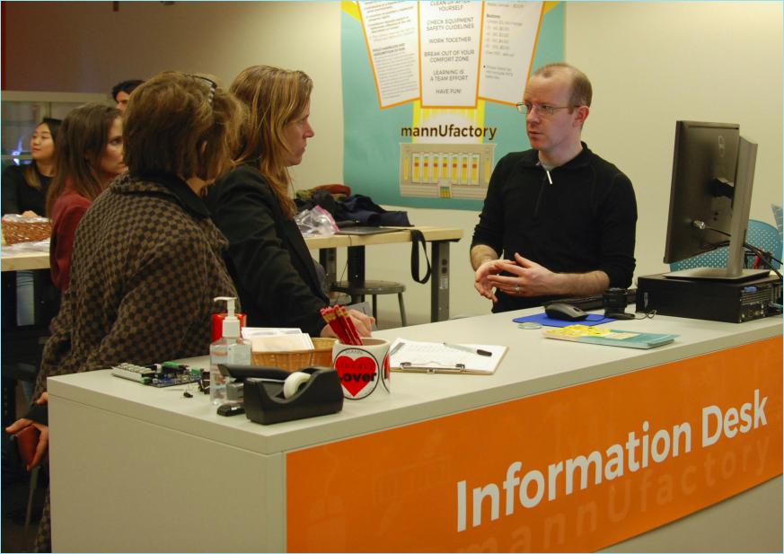 Staffed Information Desk