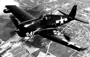 F6F Hellcat in flight
