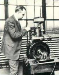 Thomas Midgley, Jr. testing anti-knock additives